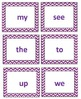 Sight Word Memory Game for Emergent Readers
