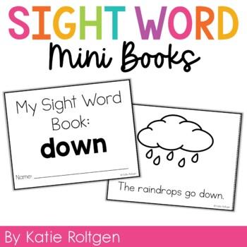 Sight Word Mini Book:  Down