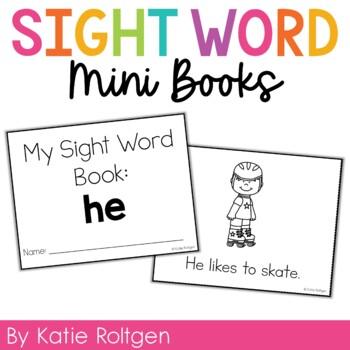Sight Word Mini Book:  He