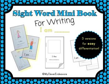 Sight Word Mini Book - I Am