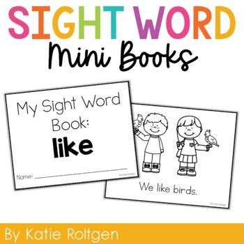 Sight Word Mini Book:  Like