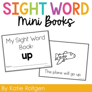 Sight Word Mini Book:  Up