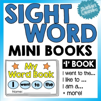 Sight Word Mini Books - copy & color! Writing & Spelling -