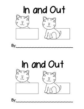 Sight Word Mini Reader: In and Out