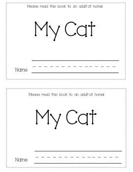 Sight Word Mini-book- My Cat