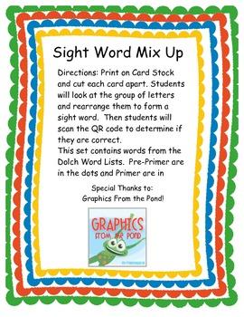 Sight Word Mix Up