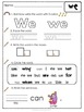 Sight Word Practice - Rainbow Write, Trace, Find and Circl