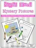 Sight Word Mystery Pictures - February Set 2