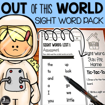 Sight Word Pack {Pre Primer- 1st Grade Dolch Words}