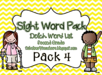 Sight Word Pack Dolch Words (Second Grade)