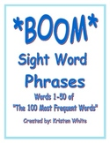 Sight Word Phrases (words 1-50)