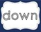 Sight Word Playdoh Mat Set 10