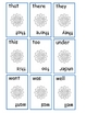 Sight Word Playing Cards (set 1)
