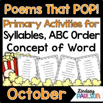 October Poetry