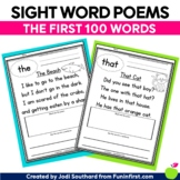 Sight Word Poems {First 100 Sight Words}