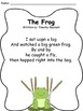 Sight Word Poetry - The Frog