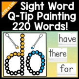 Sight Word Activities and Sight Word Centers with Paint an