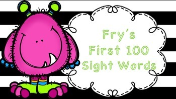 Sight Word Practice (Highlight it, color it, find it and w