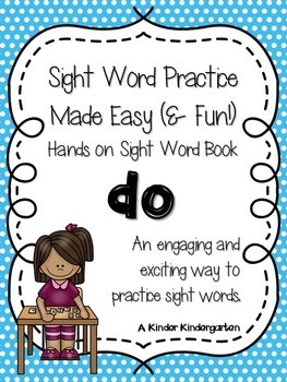 Sight Word Practice Made Easy (and FUN!)  - DO
