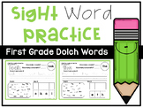 Sight Word Practice Pages *FIRST GRADE*