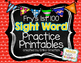 Sight Word Practice Pages {Fry's 1st 100}
