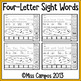 Sight Word Practice Pages : (Set Three)