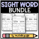 Sight Word Practice for Kindergarten Bundle Packs 1-3