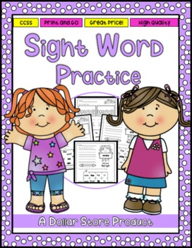 Sight Word Practice 2: he, was, for, on, are, as, with, hi