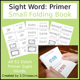 Sight Word: Primer Small Folding Book