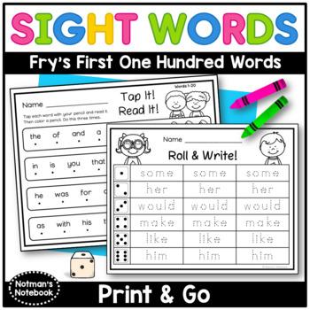 Sight Word Printables