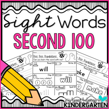 Sight Word Printables {Second 100 Edition}