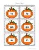 Sight Word Pumpkin Match