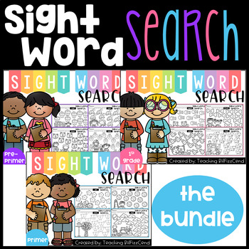 Sight Word Search (The Bundle)