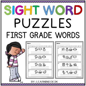 Sight Words First Grade (Secret Words)