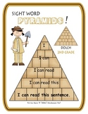 Sight Word Pyramids!  Dolch 2nd Grade
