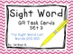 Sight Word QR Code Task Card Bundle