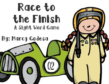 Sight Word Race to the Finish {Fry's First 50}