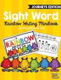 Sight Word Rainbow Writing Minibook:  Journeys Edition