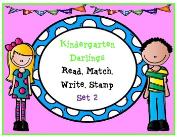 Sight Word: Read, Match, Stamp and Write