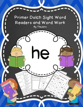 Sight Word Reader, Fluency and Word Work (HE)