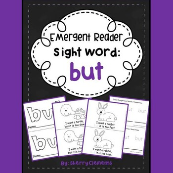 Sight Word Reader: but