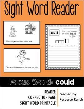 Sight Word Reader - could