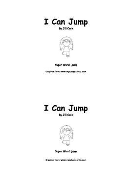 Sight Word Reader - jump