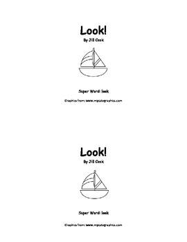 Sight Word Reader - look