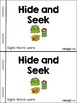 Sight Word Readers: Grade One