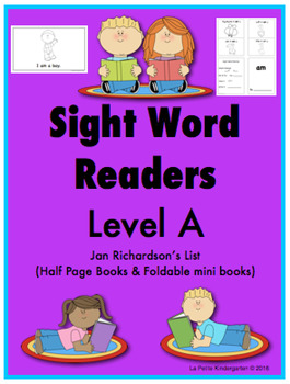 Sight Word Readers (Level A)