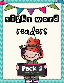 Sight Word Readers Pack 2 {come, me, with, my, you, what,
