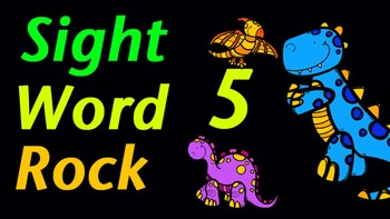 Sight Word Rock 5 Video (Fry's Sight Words 41-50)