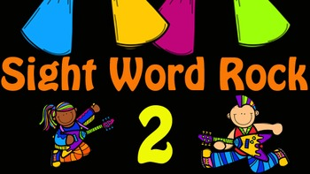 Sight Word Rock Videos 2-5 (Fry's Sight Words 11-50)