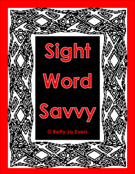 Sight Word Savvy
